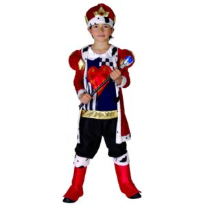 Boys King of Hearts Costume