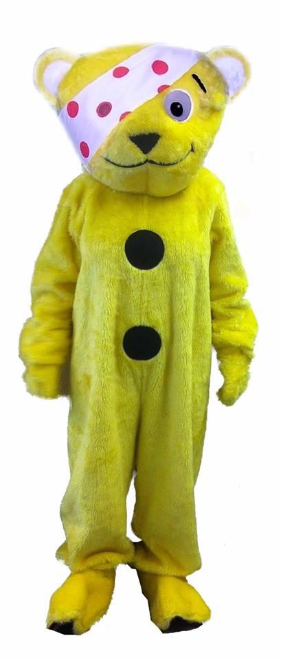 Pudsey Bear Costume
