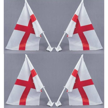 Fifa World Cup Car Flags St George