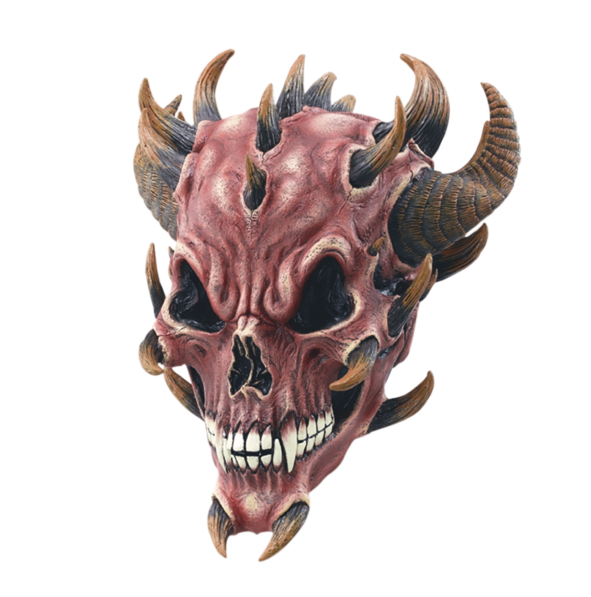 Red Skull Devil Mask Rubber