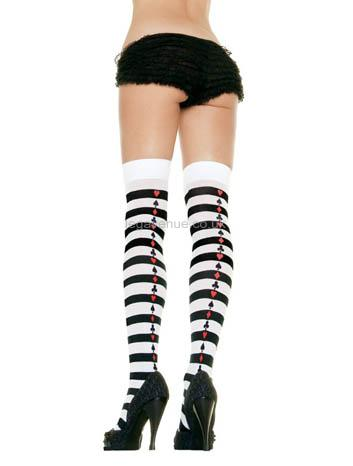Striped-Stockings-with-Poker-Suit-detail