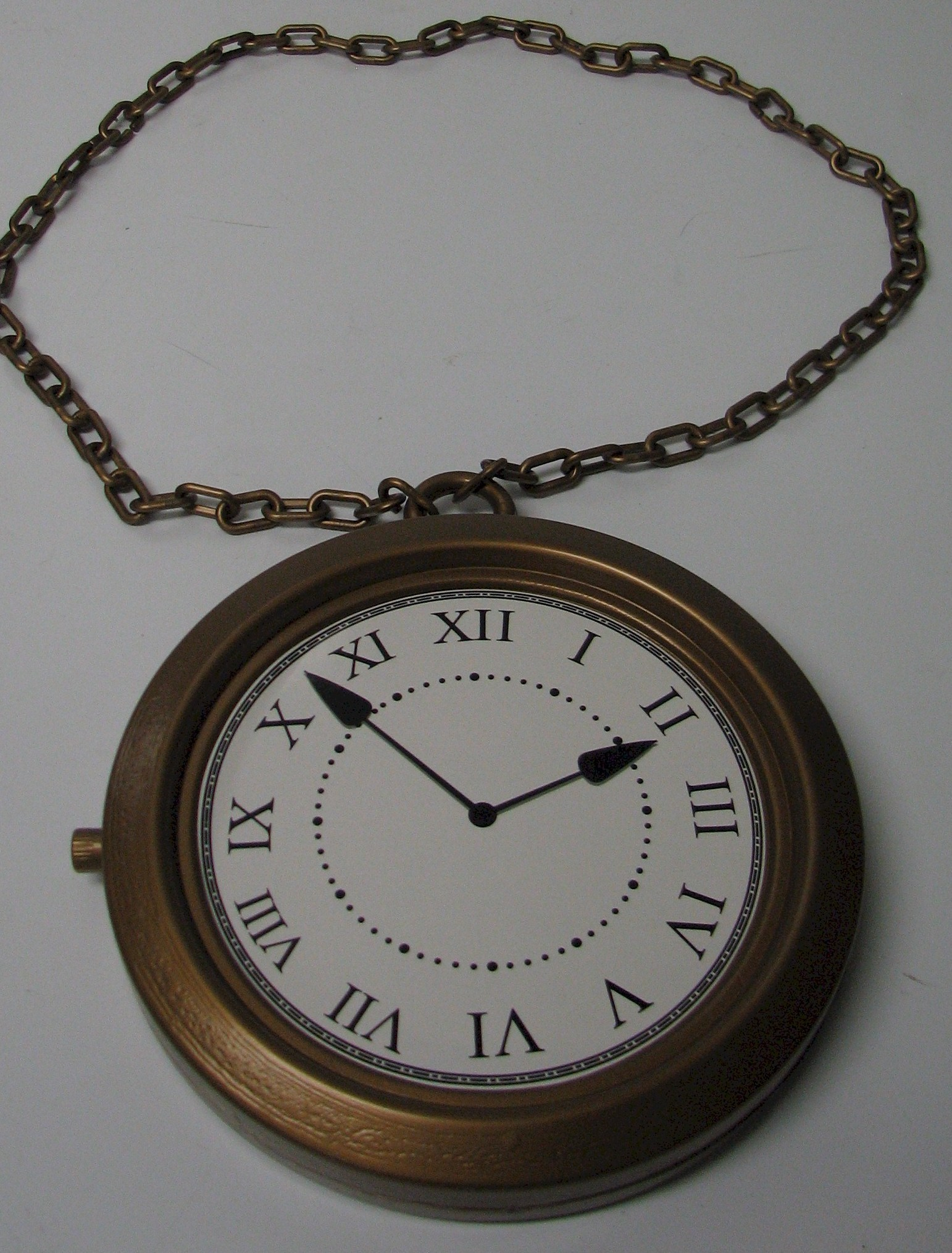 Jumbo Pocket Watch Rapper Clock White Rabbit Pocket Watch