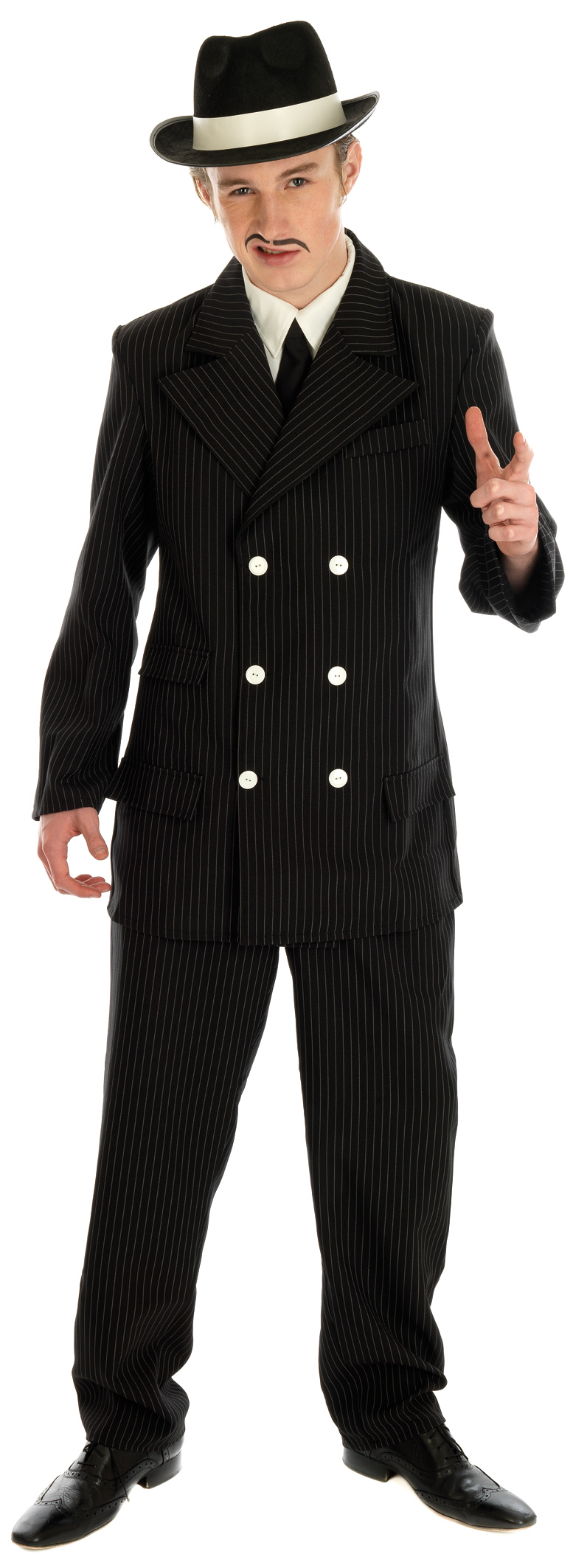 Gangster-Suit-Pinstripe