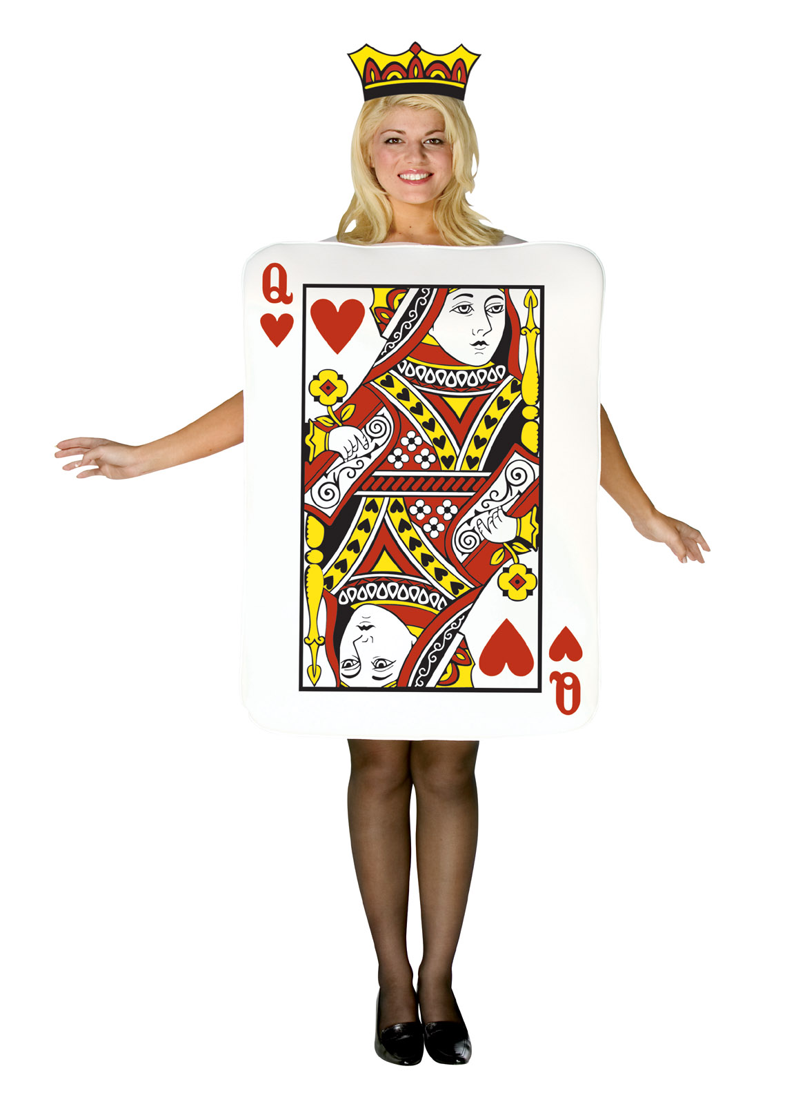 Red-Queen-of-Hearts-Playing-Card