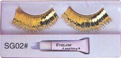 Gold-Eyelashes