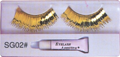 Gold-Eyelashes