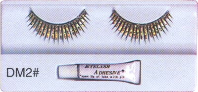 Gold-Silver-and-Black-Eyelashes