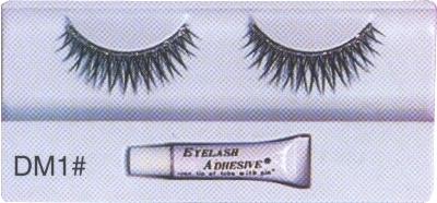 Silver-glitter-eyelashes
