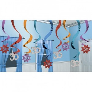 Hanging-Swirl-30th-Party-Decoration