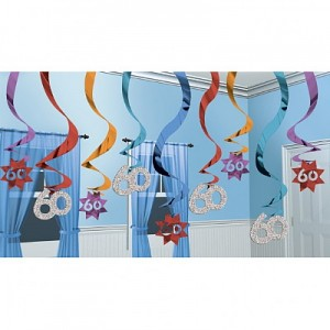 Hanging-Swirl-60th-Party-Decoration