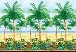 Tropical-Paradise-Palm-Tree-Decoration-Room-Roll