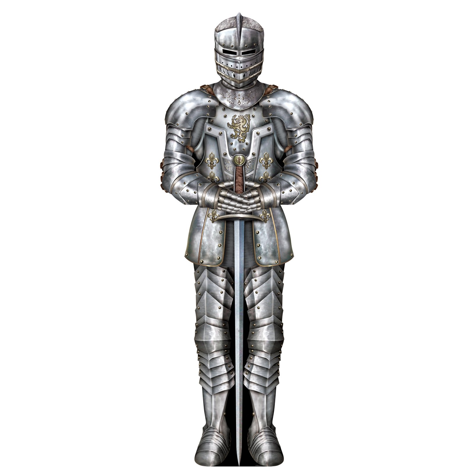 Large-Suit-of-Armour-Knight-decoration-cut-out