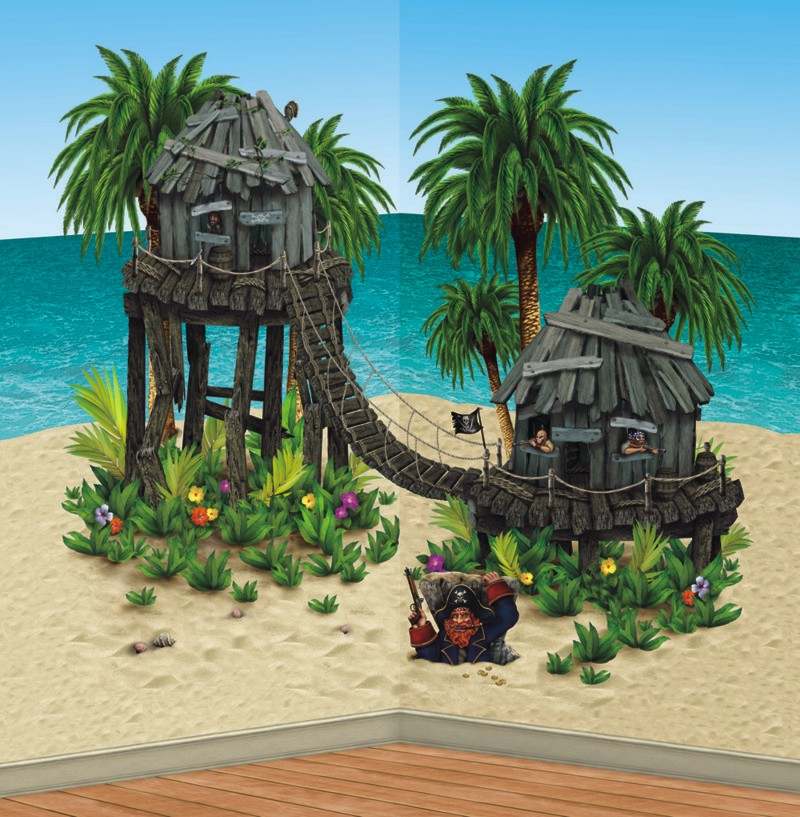 Pirate-hideaway-themed-scene-setter