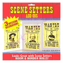 Scene-Setter---Wild-West-Wanted-Posters