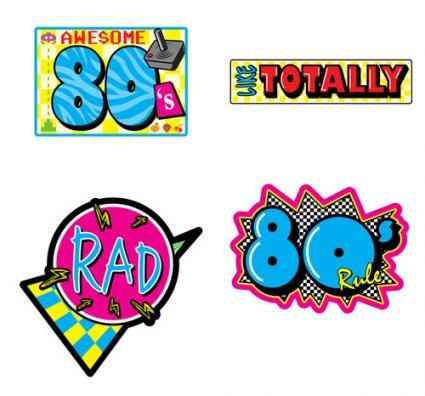 80's-decorations
