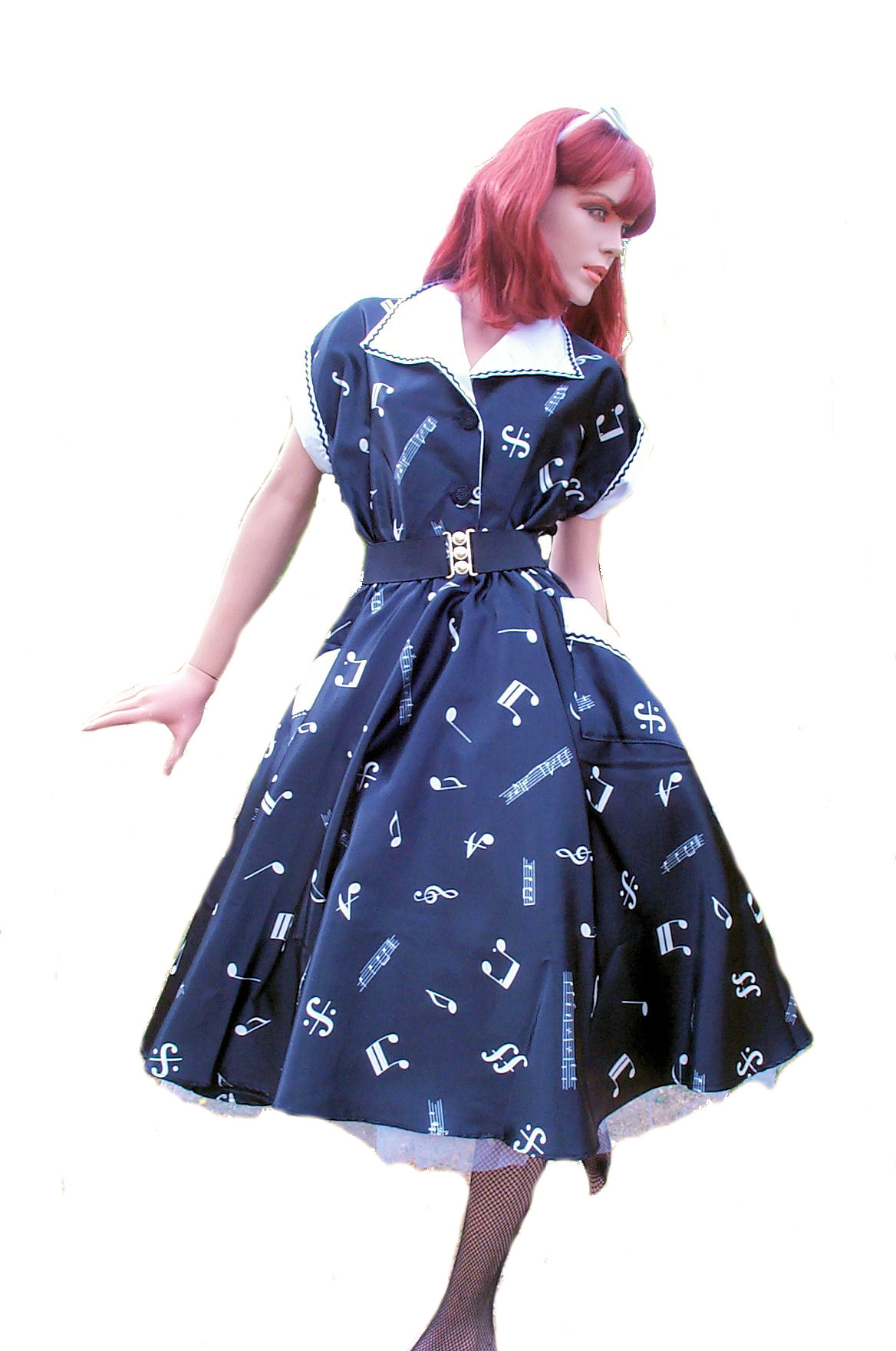 50's-music-notes-dress