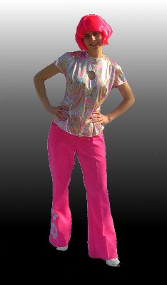 70's-Pink-glamour-girl-(Top-and-trousers)-10-12