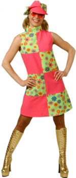 60`s-Pink-and-Lime-dress