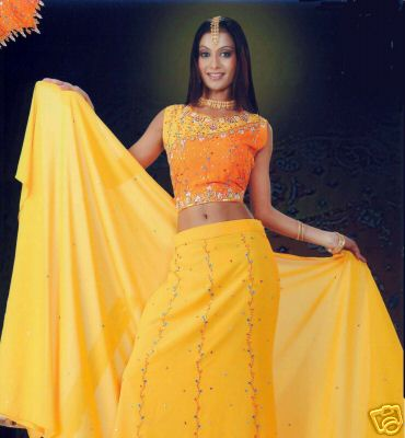 Orange-and-Yellow-Bollywood