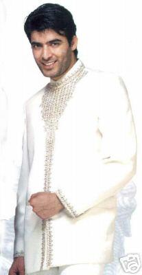 Cream-Bollywood-Blazer