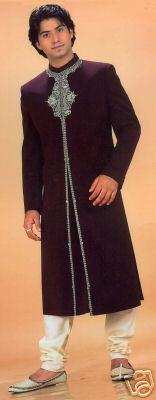 Burgundy-Bollywood-suit