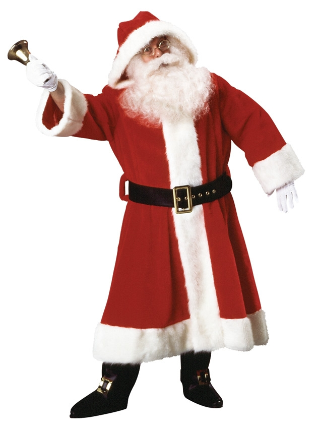 Plush-Old-Time-Father-Christmas-Robe