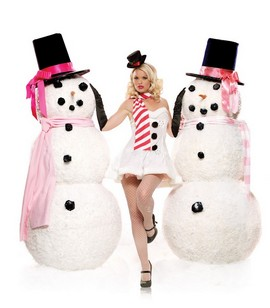 Litlle-Miss-Snowman-Girl