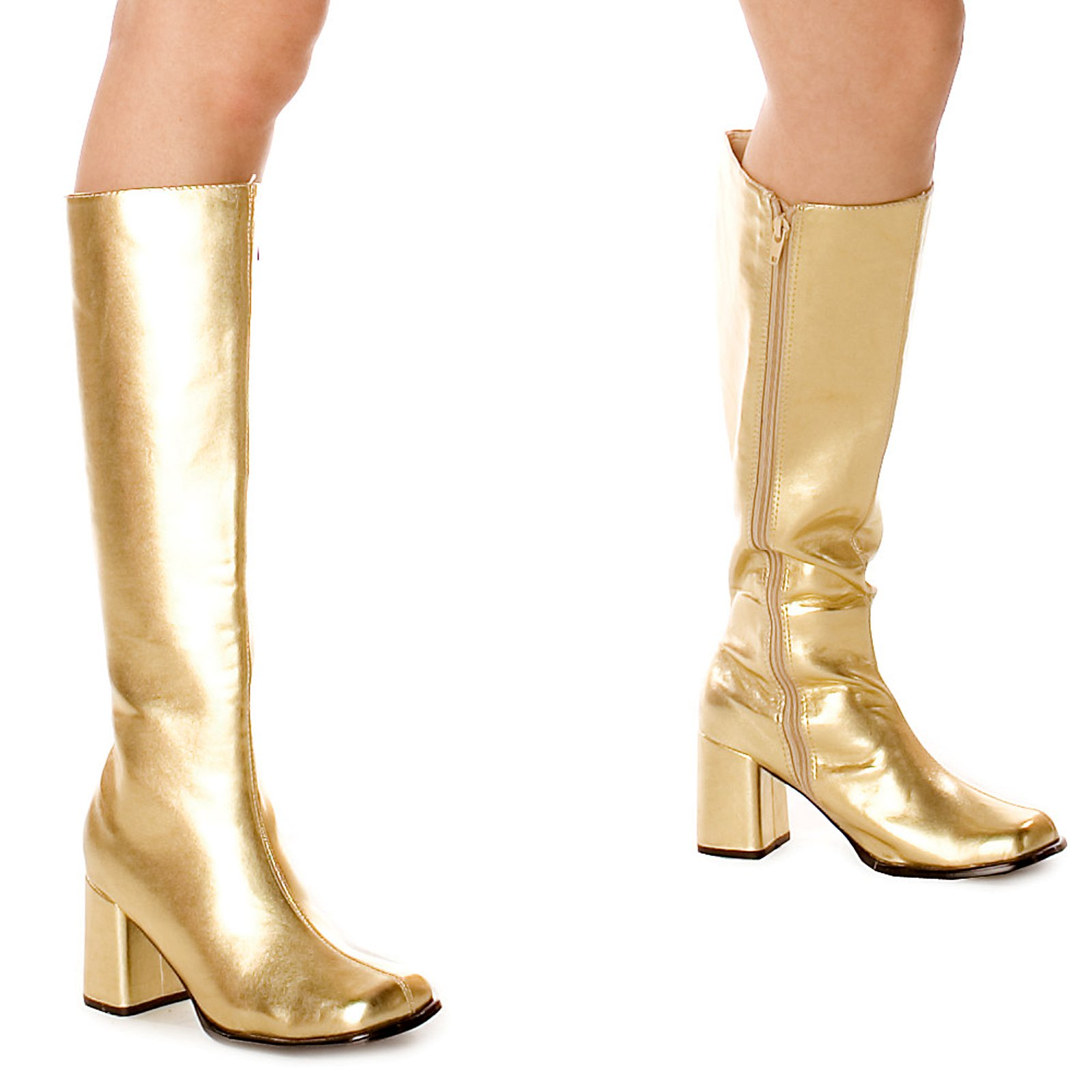 Gold-Boots