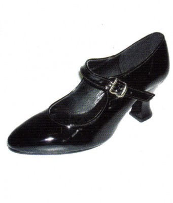 Patent-or-Leather-Button-Shoes