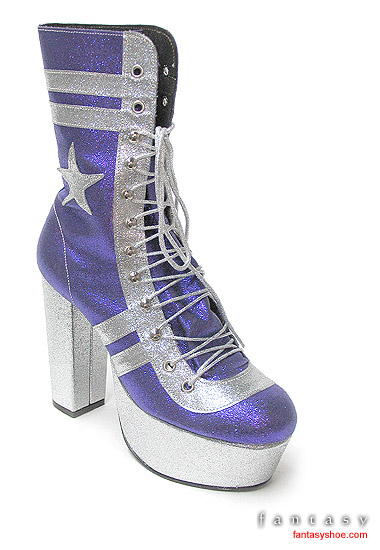 Purple-and-Silver-Glitter-Platform-Baseball-Boot