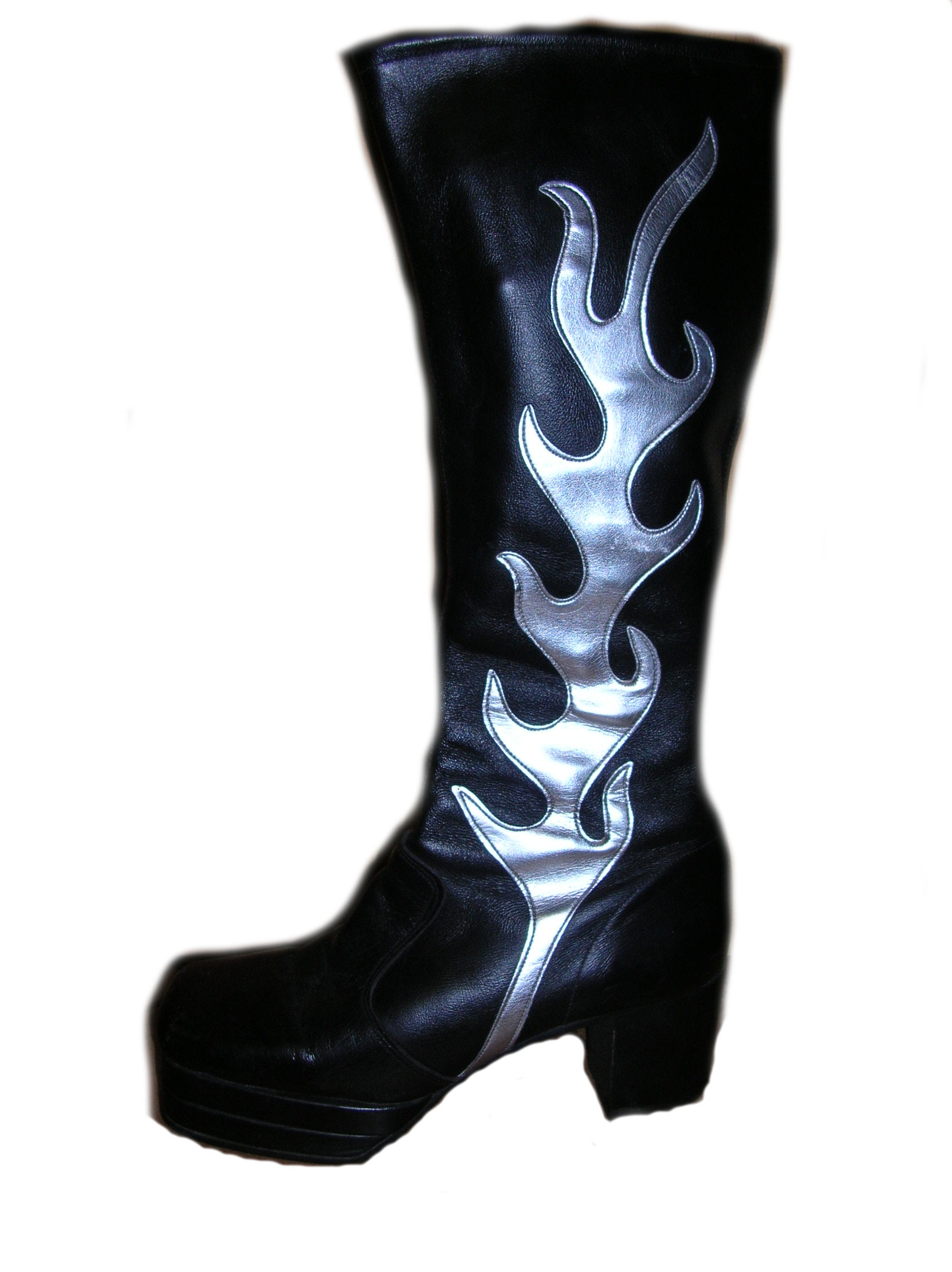 Glam-Rock-Kiss-Platform-Boots