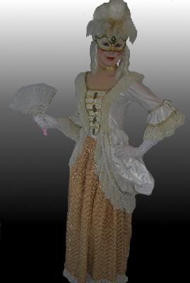 Georgian-White-and-gold-dress