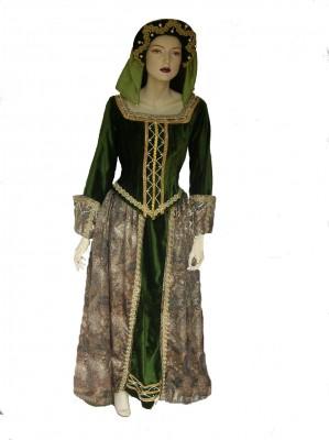 Tudor-Queen-green-corduroy