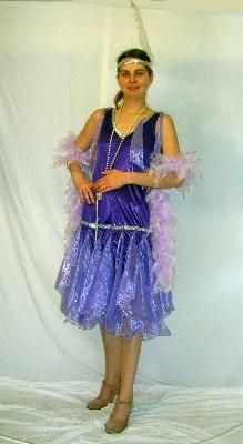 1920`s-Flapper-Dress-Lilac-purple