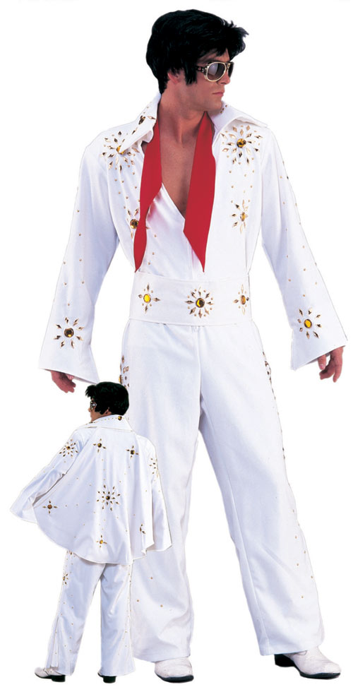 Rhinestone-Elvis-in-white-2-piece