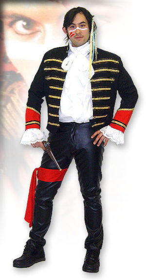 "Adam Ant Costume Highwayman ""Ant Music"""