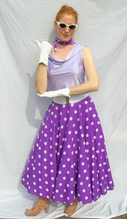 50's-lilac-Polka