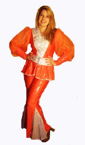 Orange-Abba-Mamma-Mia-Costume