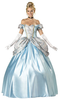 Cinderella Dress, Classic Princess Costume, Fairy Tale Dress