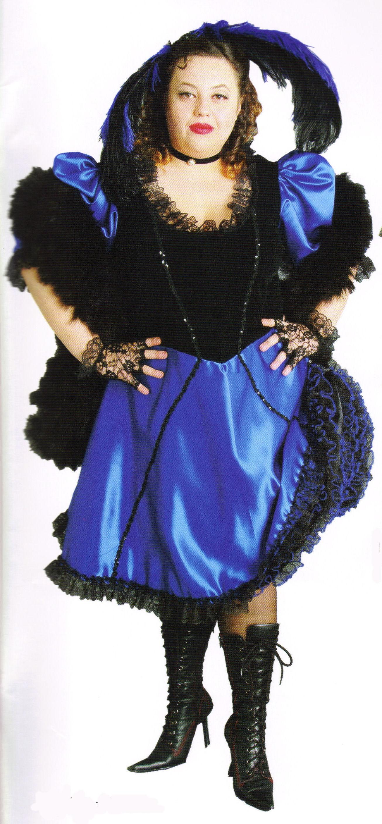 Saloon-Girl-Celia-(Blue-Black-XL)