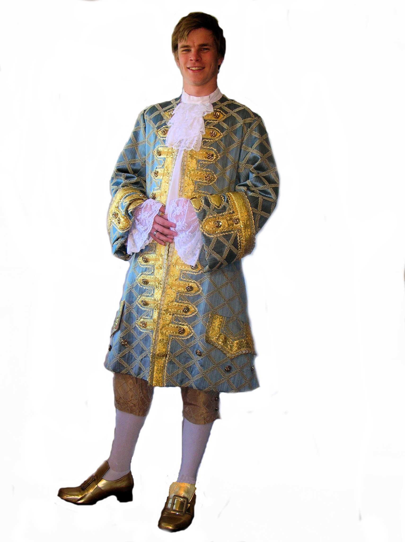 Pale-Blue-and-Gold-Brocade-Georgian-Costume