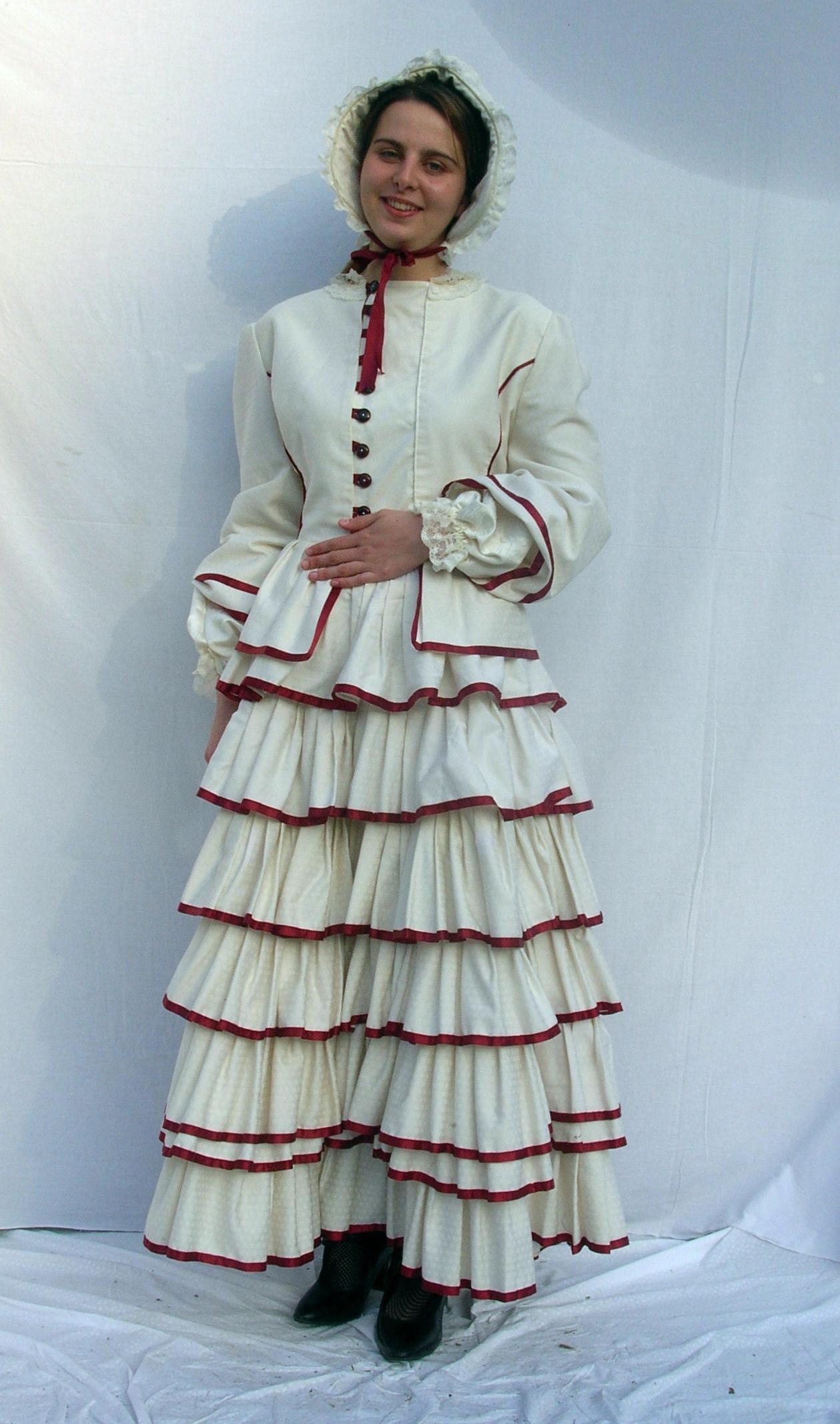 Victorian-Lady-White&Claret
