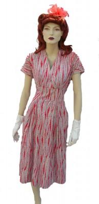 Red-white-blue-40's-dress
