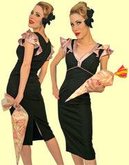 Stop-Staring-1940's-Vogue-Blush-Dress