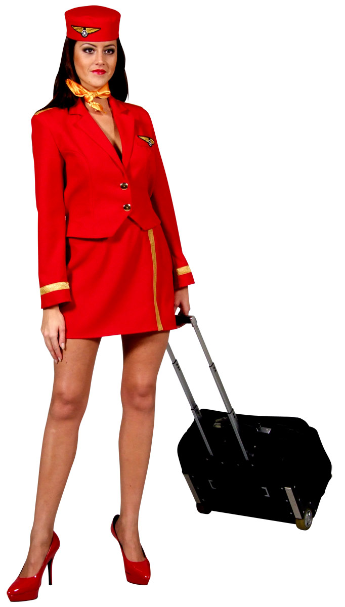 Red-Air-Hostess-Costume