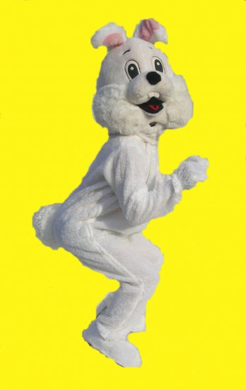 Easter Bunny, Deluxe White Rabbit