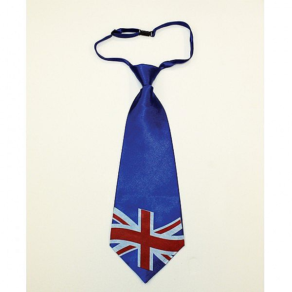 Best of British Union Jack Tie Red White Blue