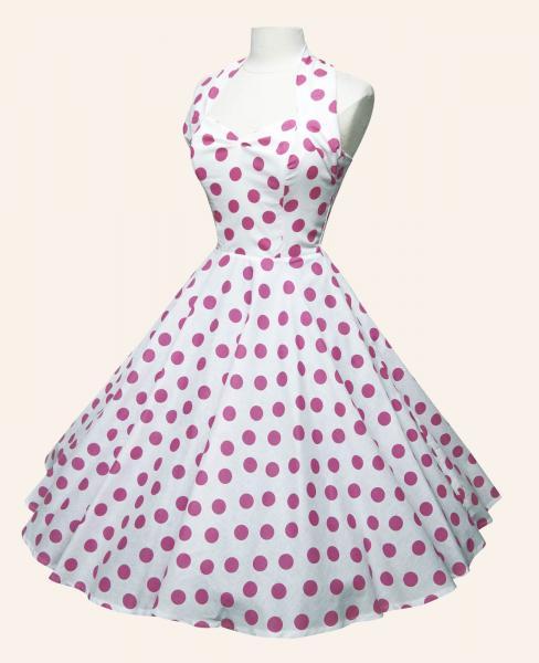 white_pink_polka_dot_50s_dress