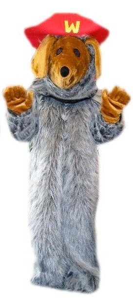Wombles Costume Style Wandering Litter Collector Costume