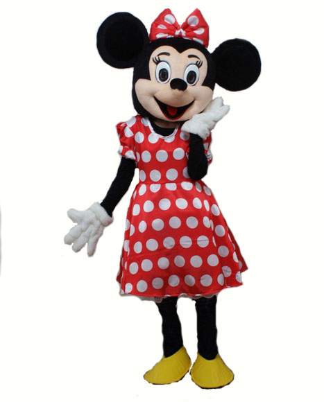 Mascot_minnie_mouse_costume